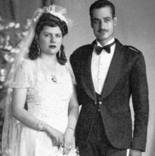 Nasser and Wife, Tahia