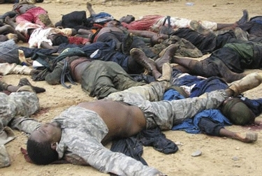 Nigerian New Year Christian Slaughter