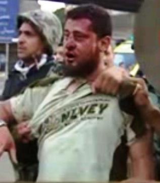 Apprehended Jihadi