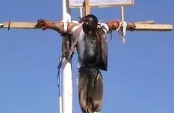 Yemen crucifixion