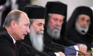 Putin Supports Egyptian Military, Orthodox Churches to Work Together