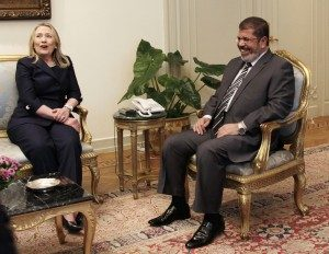 Morsi's Wife Threatens to Expose Hillary Clinton's 'Special Relationship' with Muslim Brotherhood