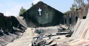 Muslims Burn Church, Kill Pastor's Daughter, in Search of Apostate in Nigeria