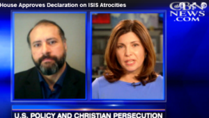 Raymond Ibrahim on CBN News: U.S Foreign Policy Empowers Jihadis and Gets Christians Killed