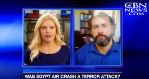Raymond Ibrahim on CBN News: EgyptAir Plane Crash