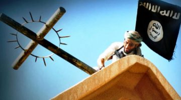 'Break the Cross!'  Muhammad Commands It