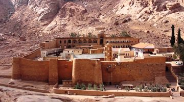 Ancient Egyptian Monastery Closed and Christmas Canceled