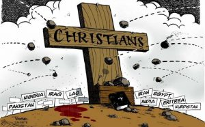 """""""Clean Our Excrement Every Day or Die"""": Muslim Persecution of Christians, August 2017"""